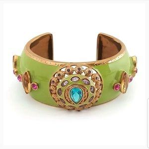 ALLEN SCHWARTZ Motif Crystal Bracelet Jewelry